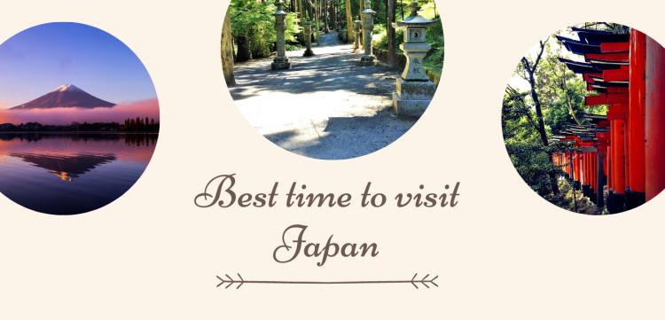 Social media image for Best time to visit Japan