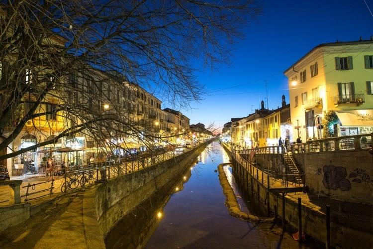 Navigli nightlife - Milan bucketlist idea