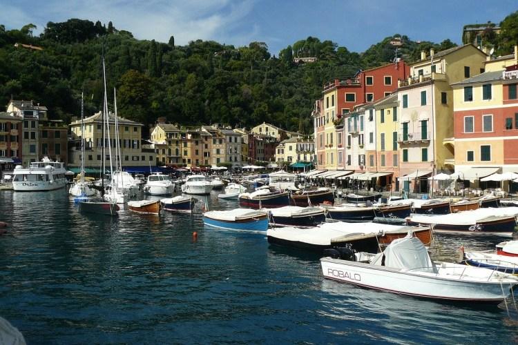 Portofino, Italy day trips from Italy