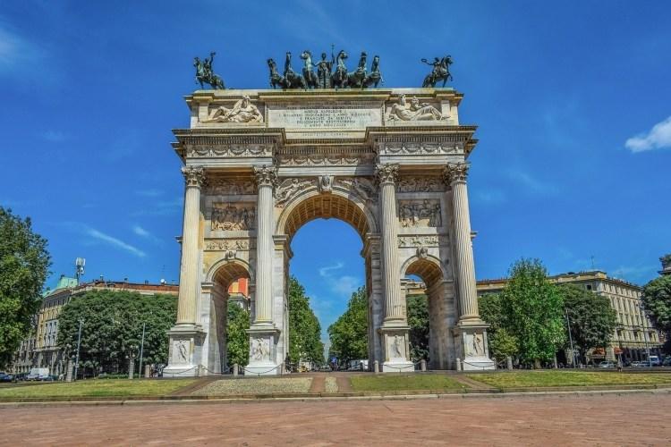Arco delle Pace | Arch of Peace - Milan bucketlist idea