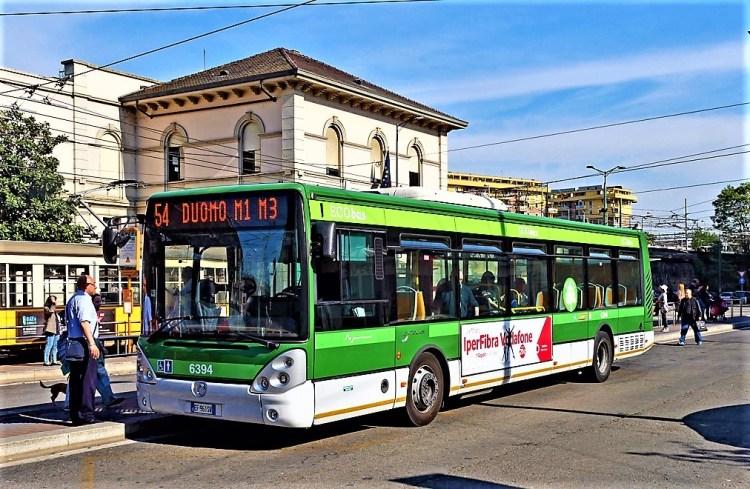 Eco bus Milan