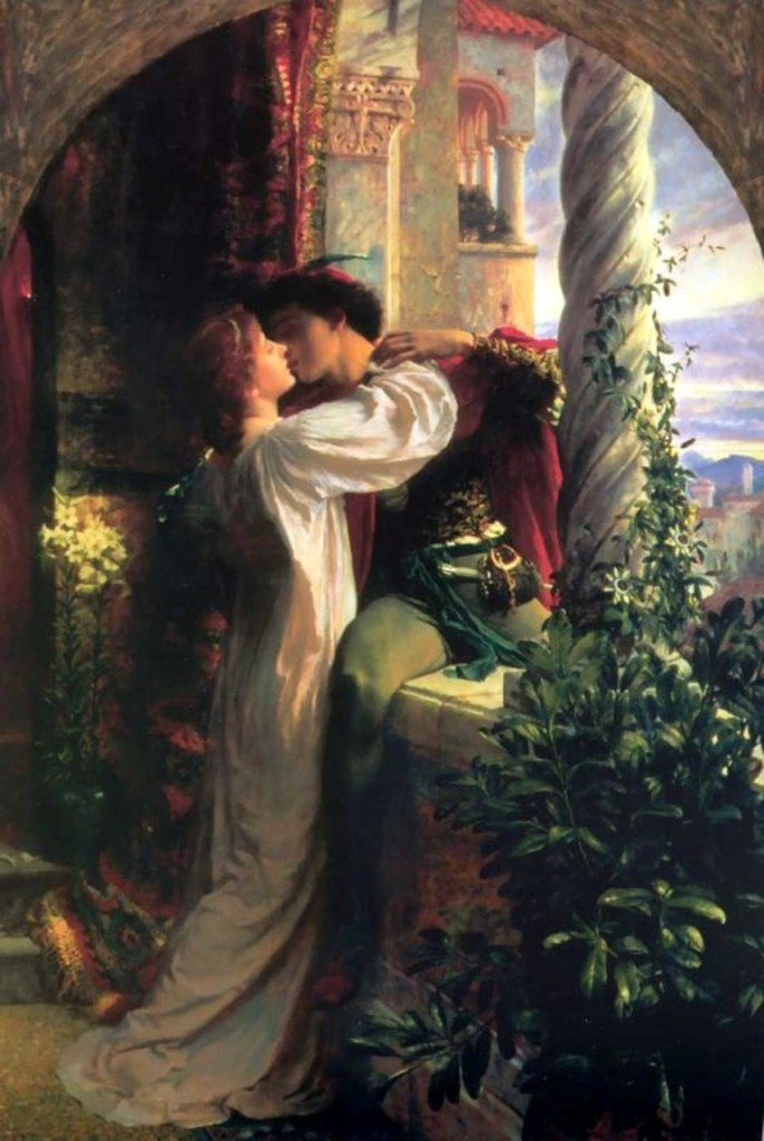 Romeo and Juliet by Frank Bernard Dicksee, 1884