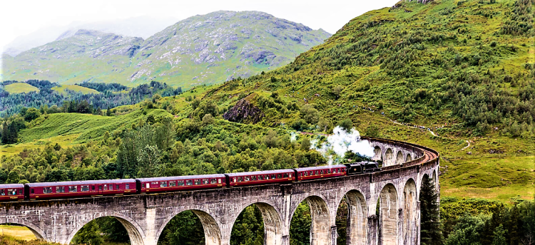 Inverness | Jacobite Steam Train | Train travel in UK