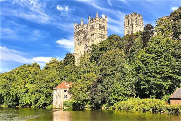 Durham Castle, England | Train Travel in UK