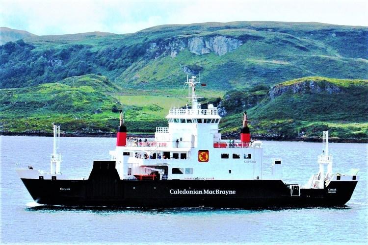 Oban ferry, Scotland