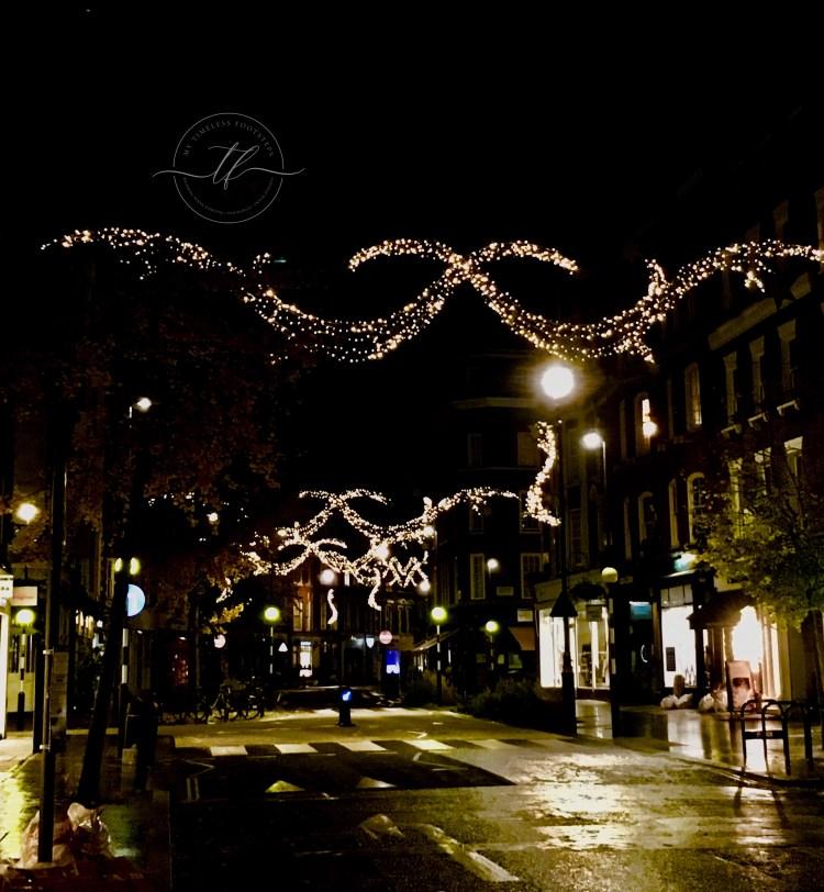 Marylebone - best 10 Christmas lights in London