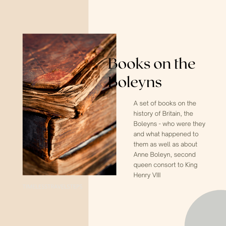Interesting books on the Boleyns