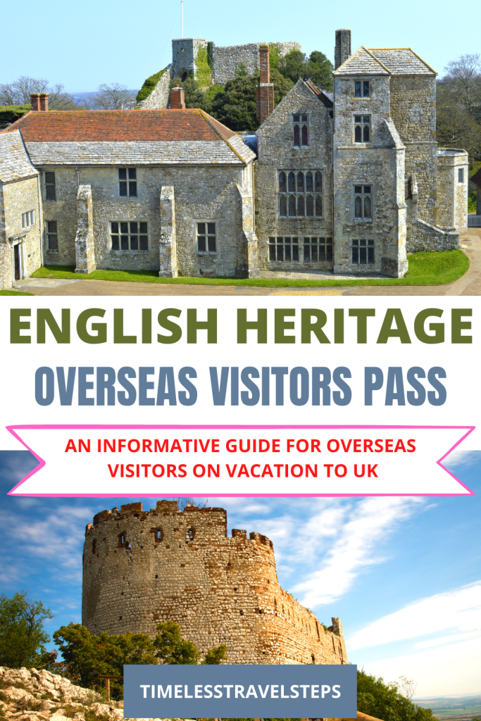 English Heritage Overseas Visitors Pass