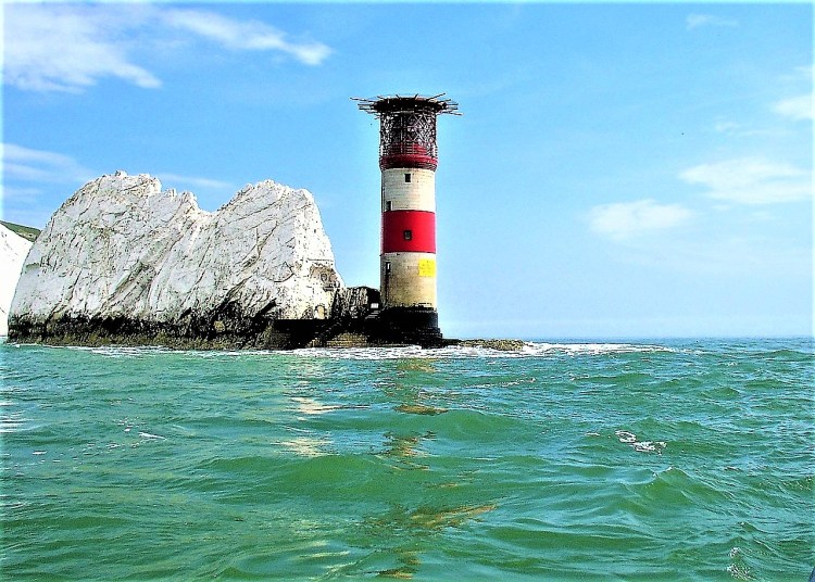 The Needles Lighthouse | The Needles Rocks and Lighthouse | Isle of Wight | best views of the Needles