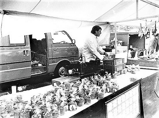 original rudi's truck | stroopwafels in Amsterdam