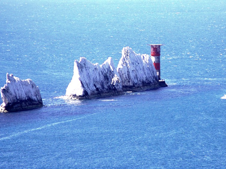 The Needles Rocks and Lighthouse Isle of Wight