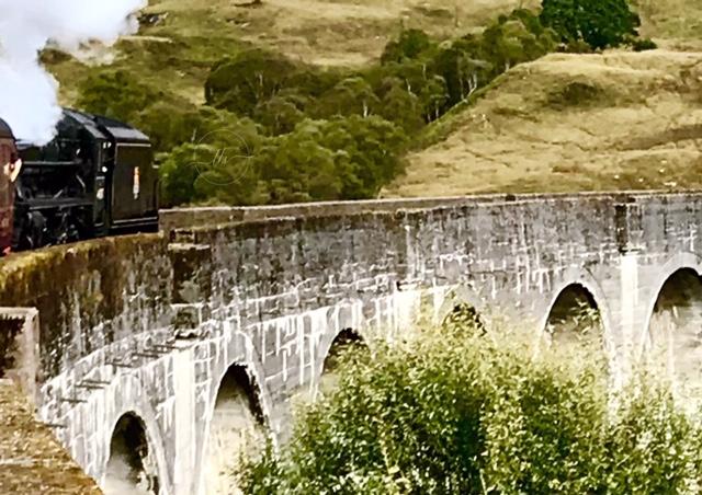 On the Glenfinnan Viaduct