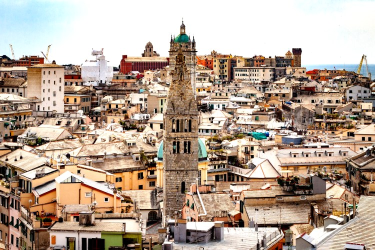 genova italy - day trips from Milan