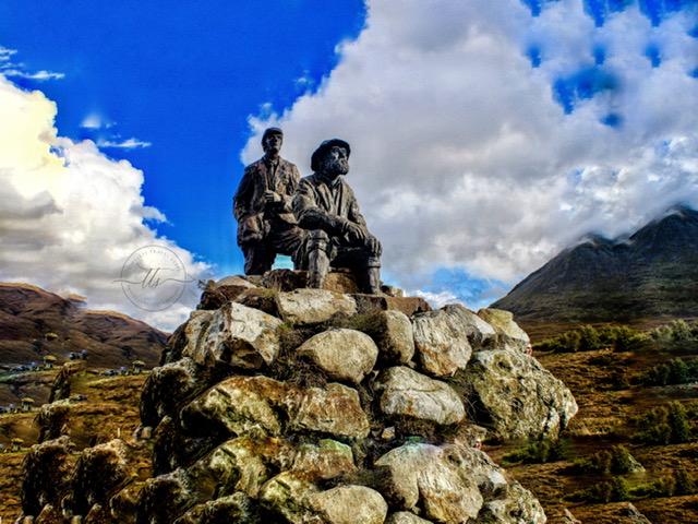 Collie-Mackenzie memorial sligachan isle of skye