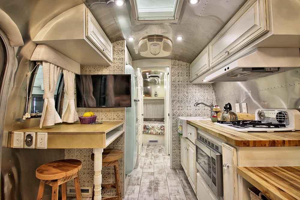 Shabby Chic Airstream  Timeless Travel Trailers