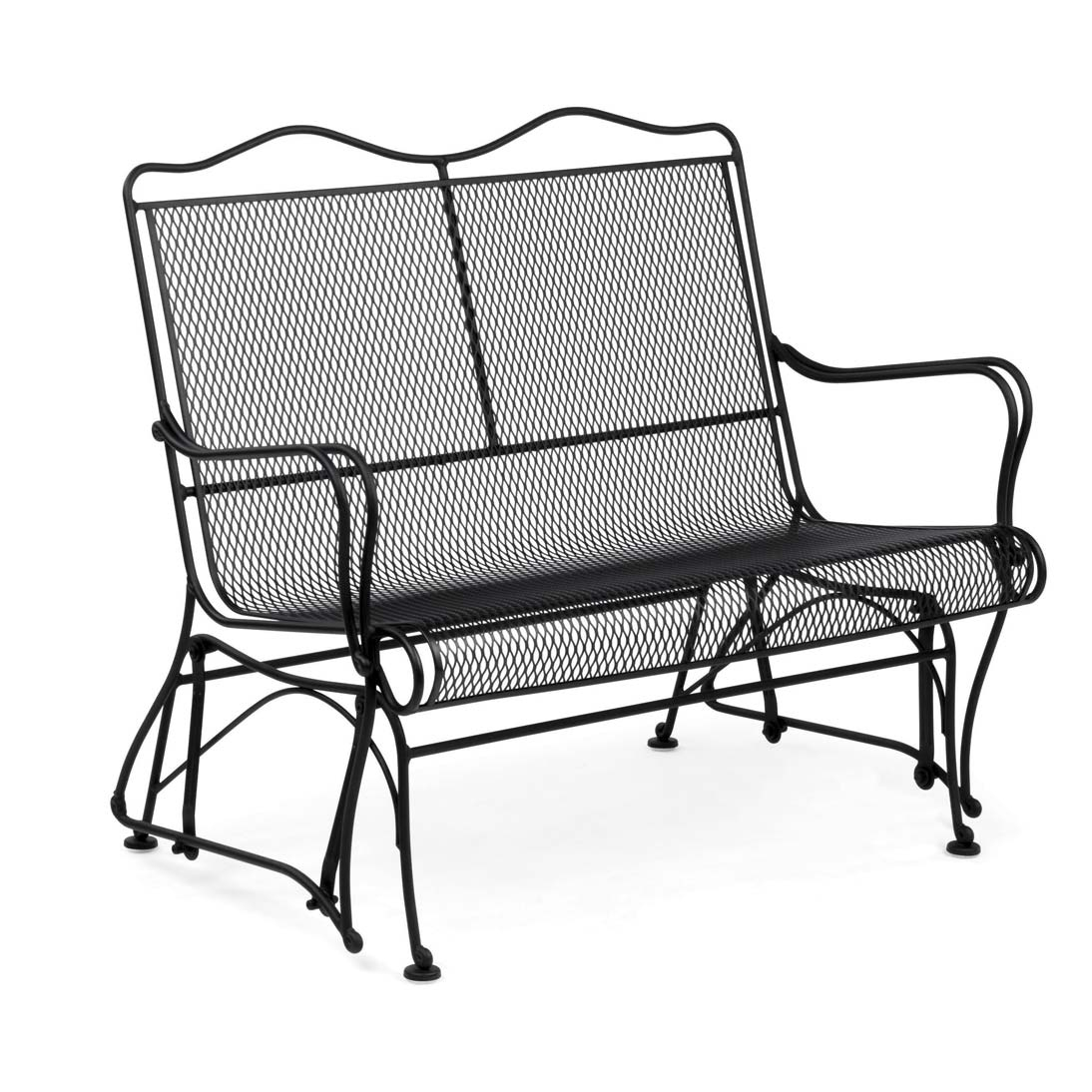 Mesh Patio Chairs Pictured Is The Tucson Micro Mesh High Back Gliding Chair