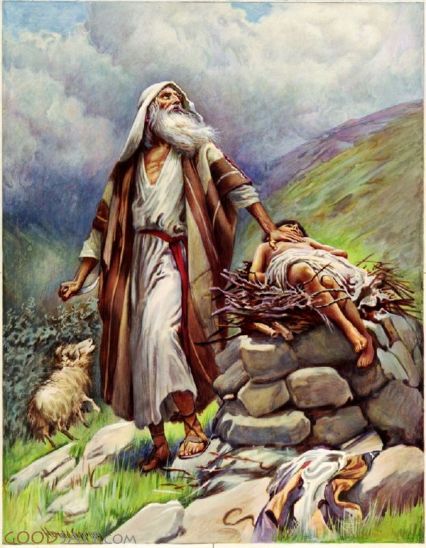 Image result for isaac and the cross