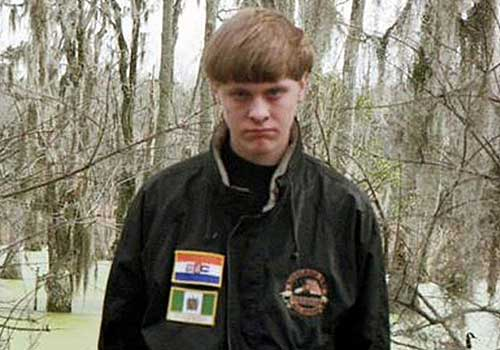 Charleston, S.C., church shooting suspect Dylann Storm Roof.