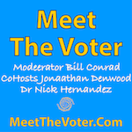 Conrad Denwood and Hernandez on Meet the Voter