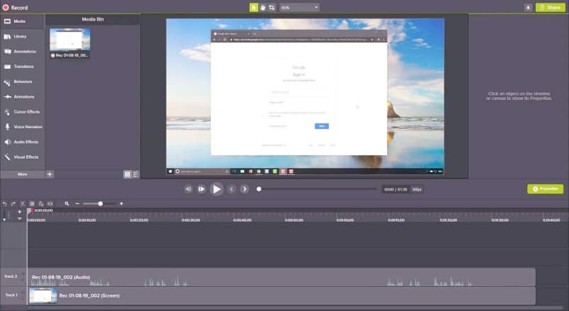 Aplikasi Edit Video PC - Camtasia Studio