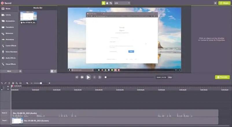 Aplikasi Edit Video PC - Camtasia Studio