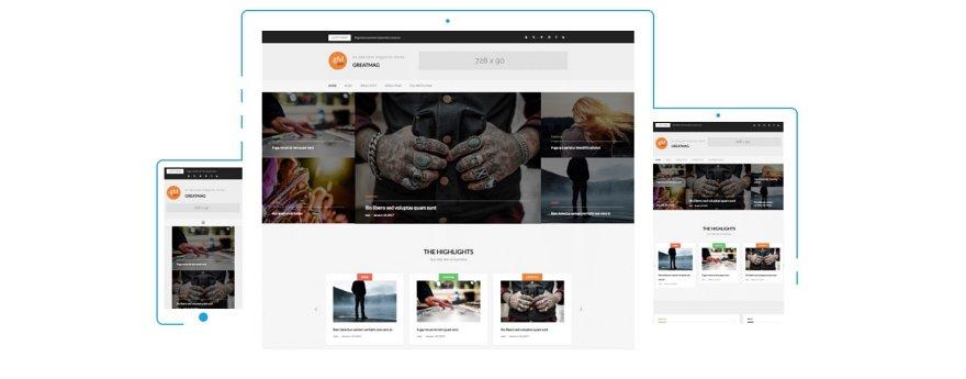 GreatMag WordPress Theme