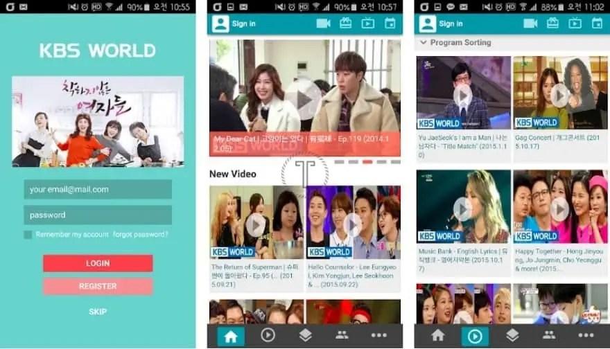 KBS World TV - Aplikasi Nonton Drama Korea di Android