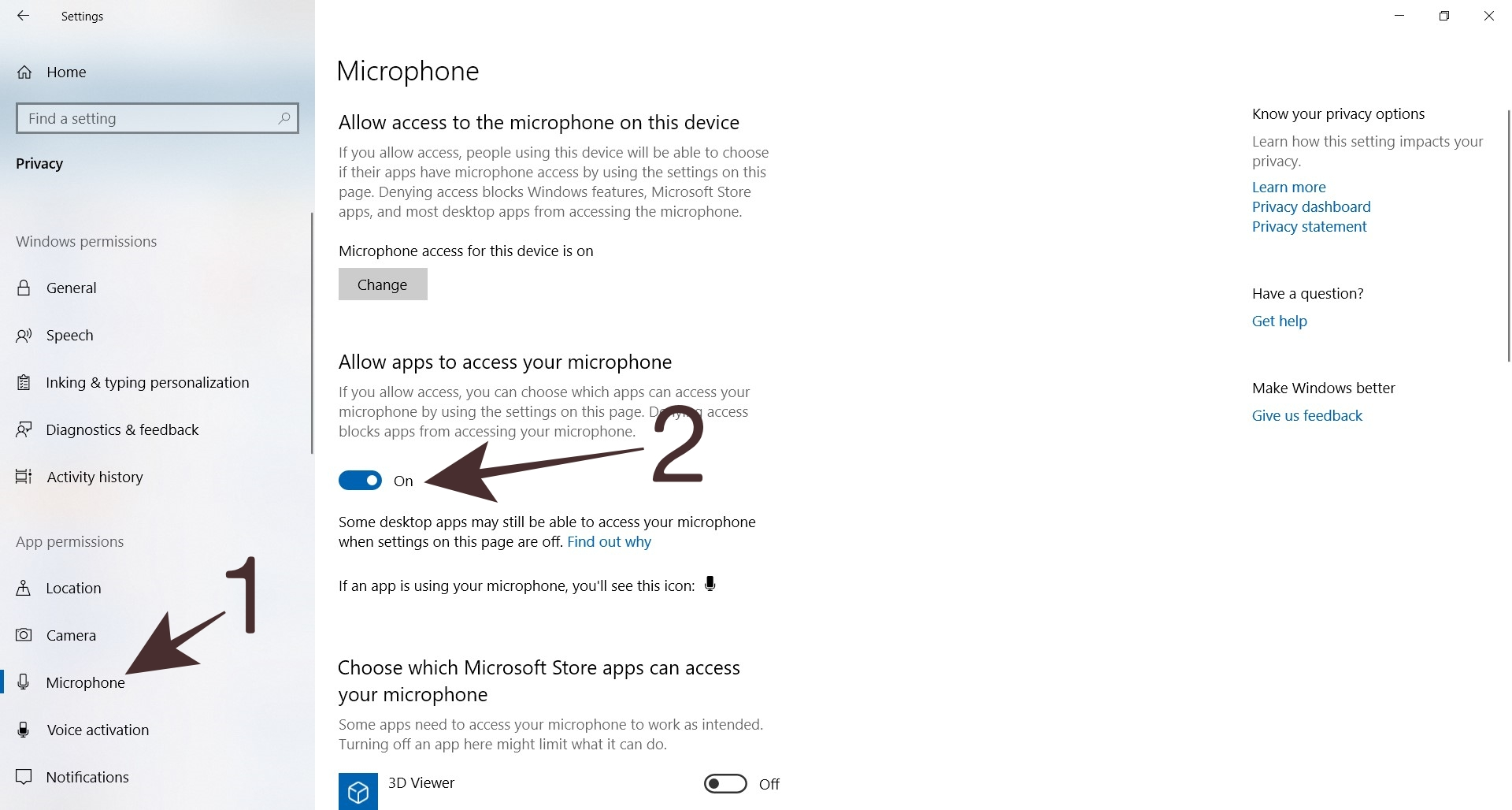 Cara Setting Microphone Melalui Windows Settings