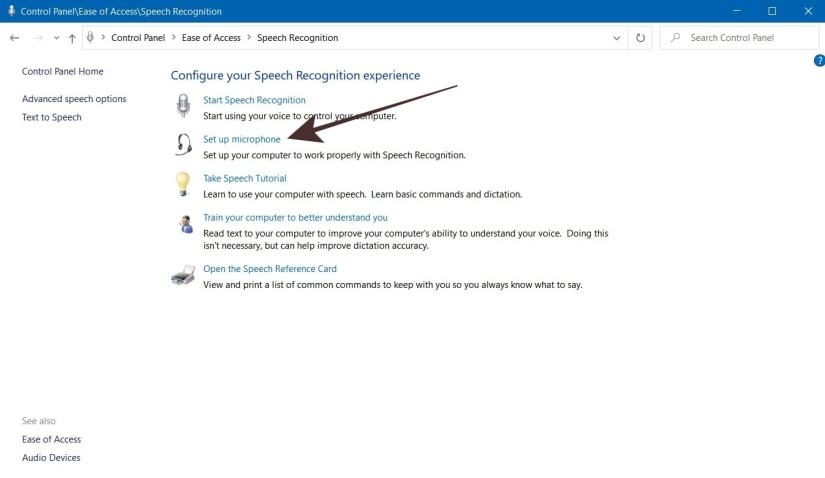 Cara Setting Microphone Windows 10