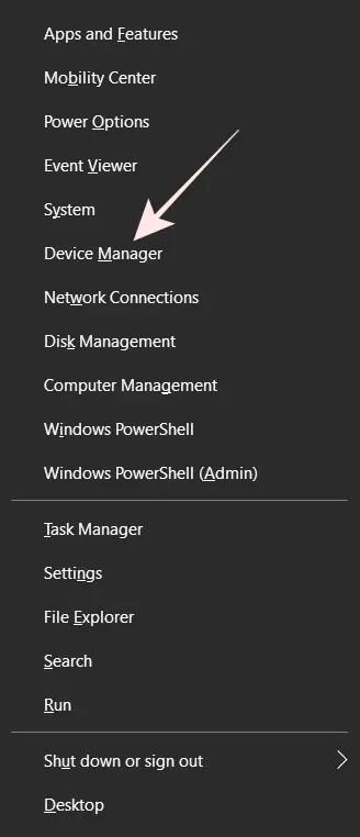 WinX Menu di Windows 10