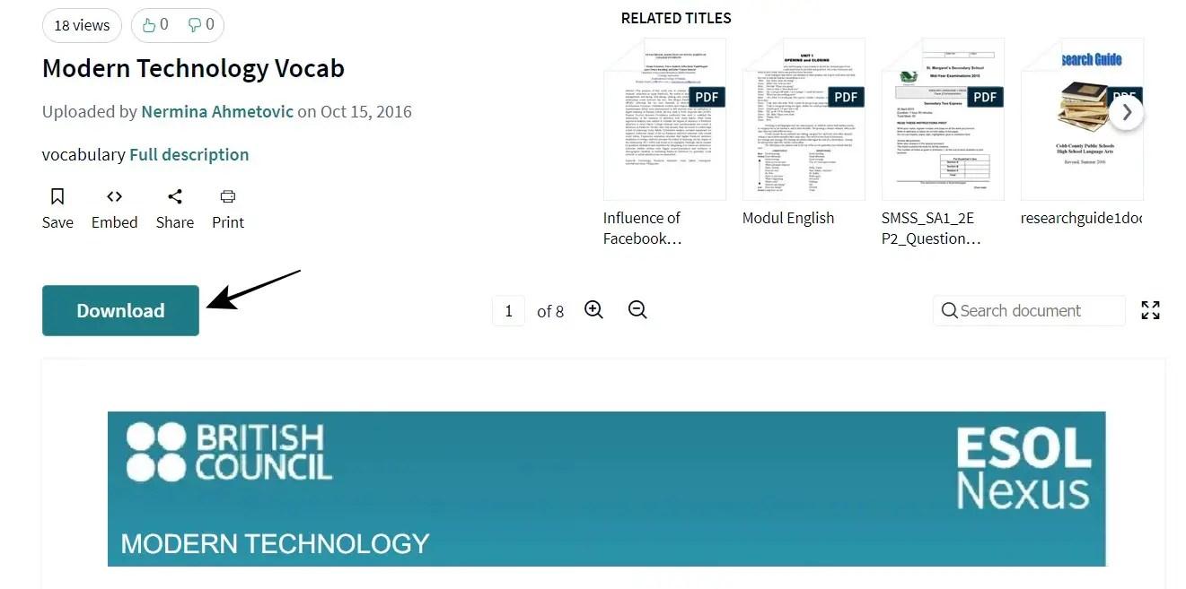Hasil pencarian dokumen untuk diunduh dari Scribd