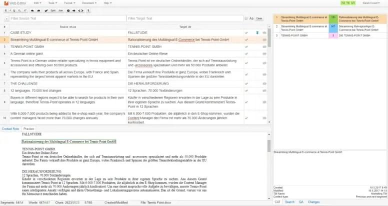 Memsource Desktop - Aplikasi Translate PC Terbaik