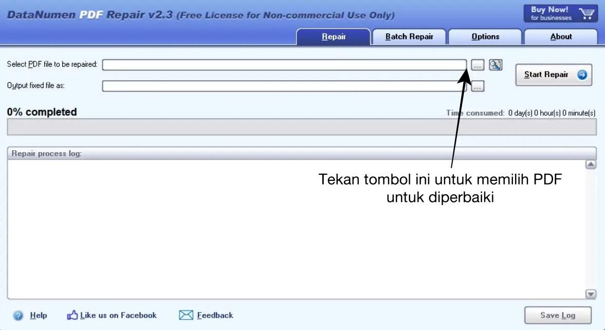 Software DataNumen PDF Repair