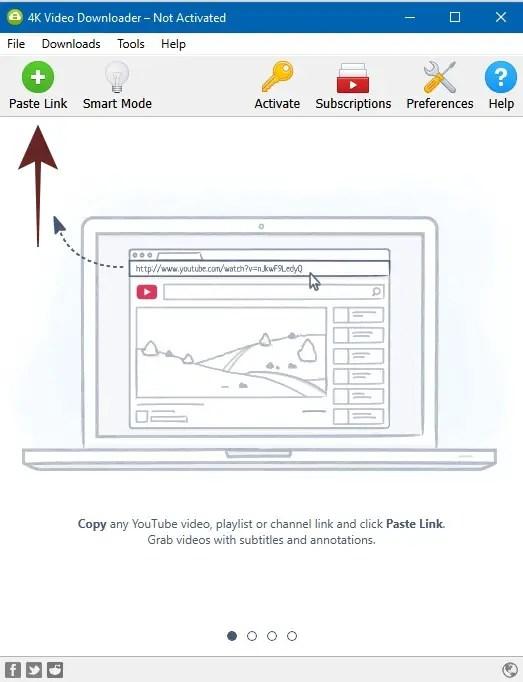 Buka Software 4K Video Downloader