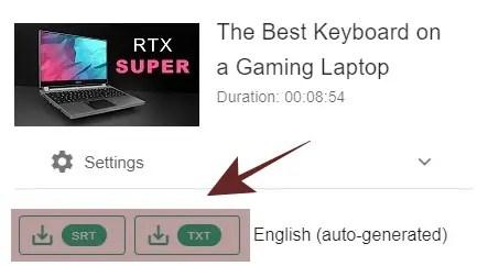 Download Subtitle YouTube dalam Bentuk SRT atau TXT