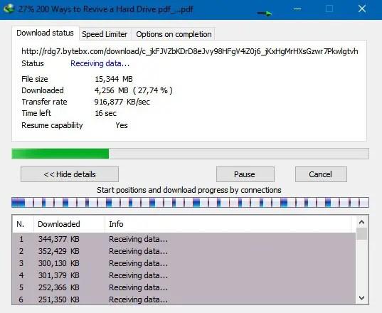 Unduh File Torrent Dengan IDM