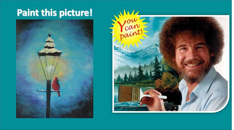 Bob Ross Painting Workshop 1