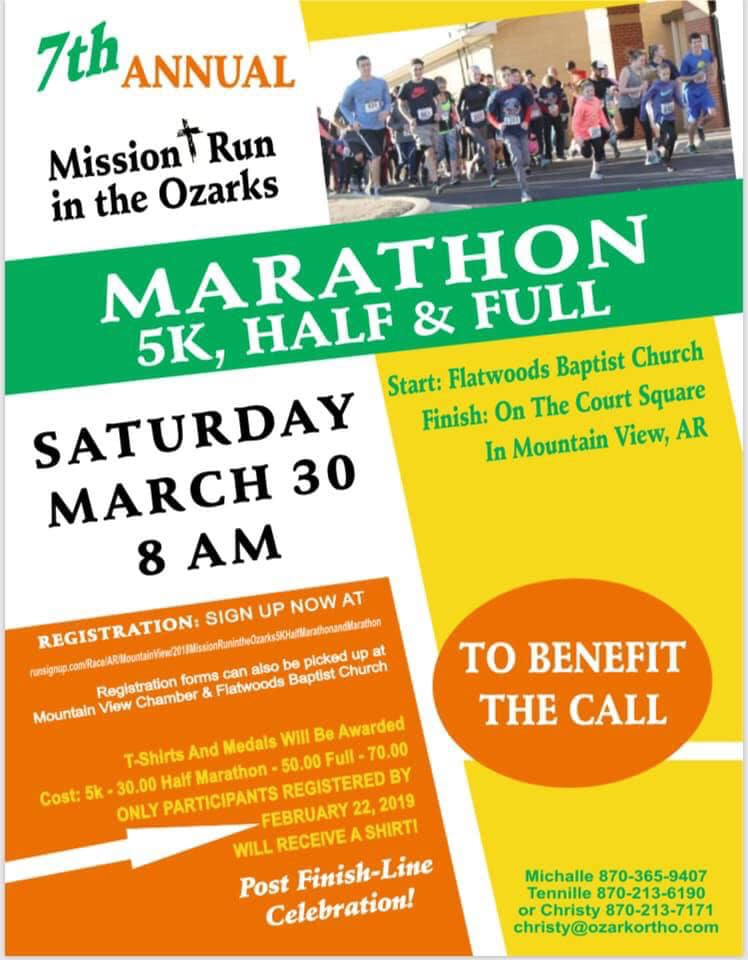 7th Annual Mission Run in the Ozarks 1