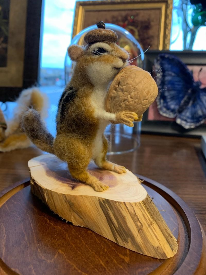 Intermediate  Dry Needle Felted Critter  with Delisa Eads-Wagar 1