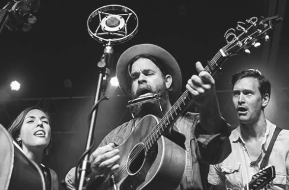 Joe Purdy & The Honey Dewdrops & Smokey & the Mirror 1