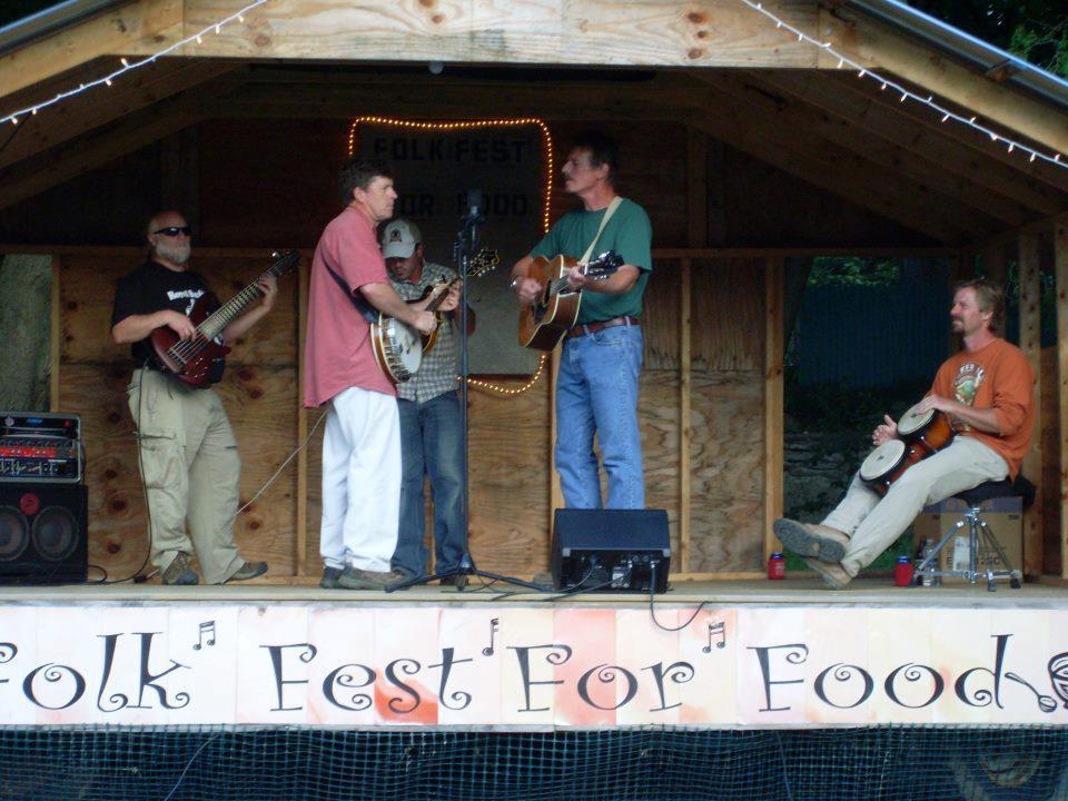 Live Music in the Craft Village - Gravel Yard Bluegrass Gang 1