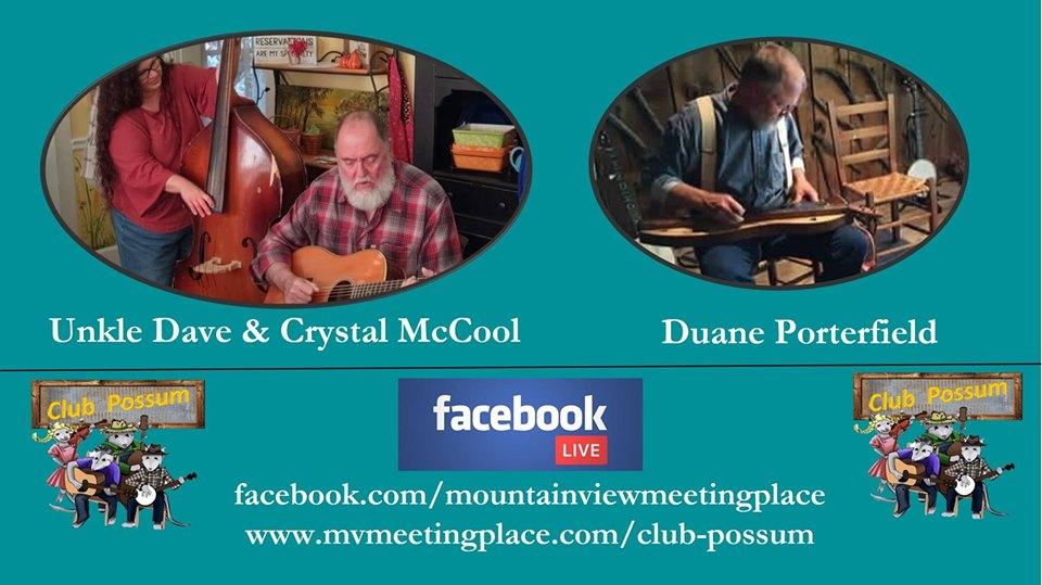 Uncle Dave & Crystal McCool/Duane Porterfield 1