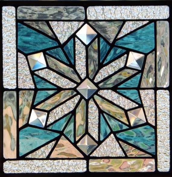 Stained Glass Class- Snowflake Panel 1
