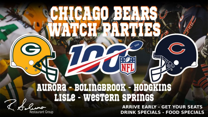 Bears Vs Packers Watch Party Salernopizza Com