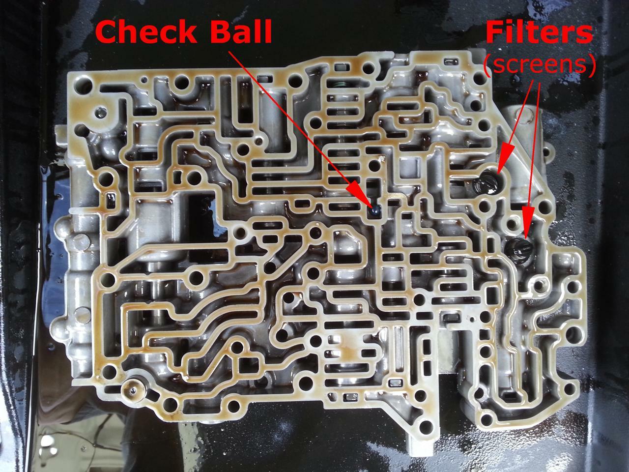 hight resolution of toyota a541e valve body check ball and vibrating stopper 4l60e accumulator diagram 1996 4l60e valve body