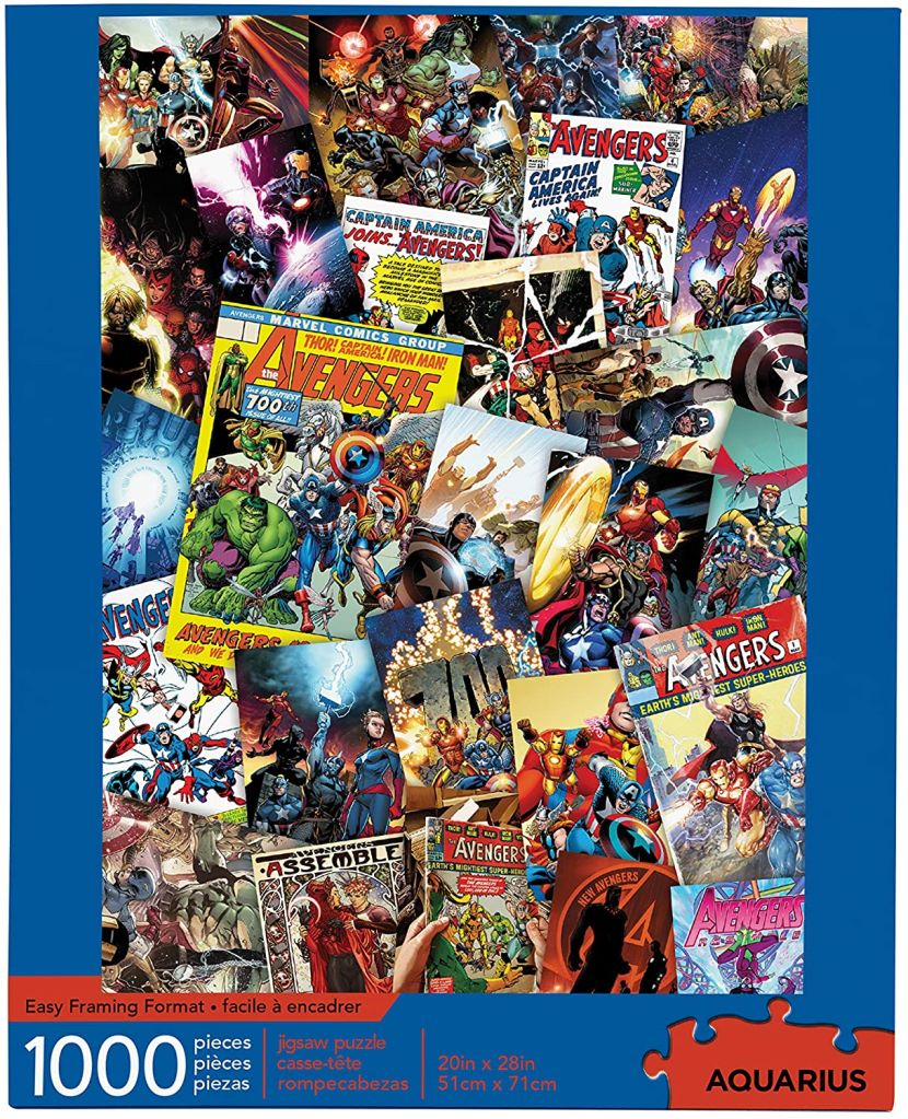 Super Hero Marvel Avengers Universe Poster COLLAGE Puzzle Jigsaws 1000 Hobby DIY