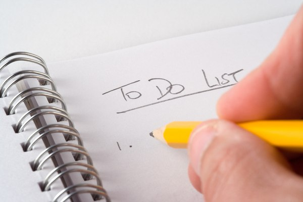 Paper or Electronic To Do Lists, What Keeps You Organized? :: Mind ...