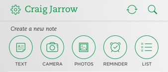Evernote Buttons