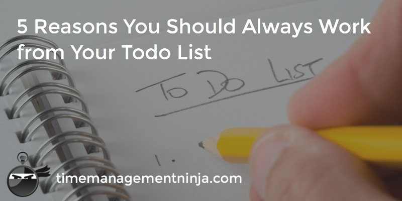 5 Reason Always Work Your List