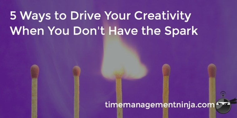 5 Ways To Drive Your Creativity